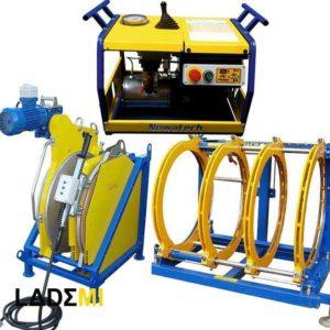 Аппарат сварки труб ZHCB 800 для сварки ПЭ труб
