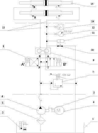 Схема работы подстанции UHRB-160-400